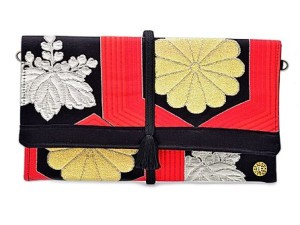 Obi bag red-black-gold